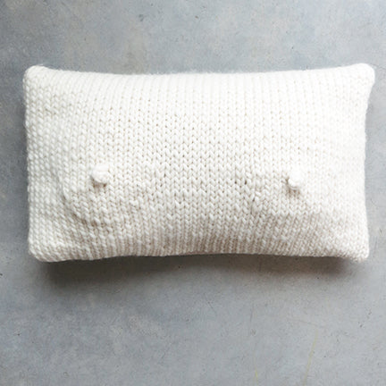 SIN A-Cup Pillow in Porcelain