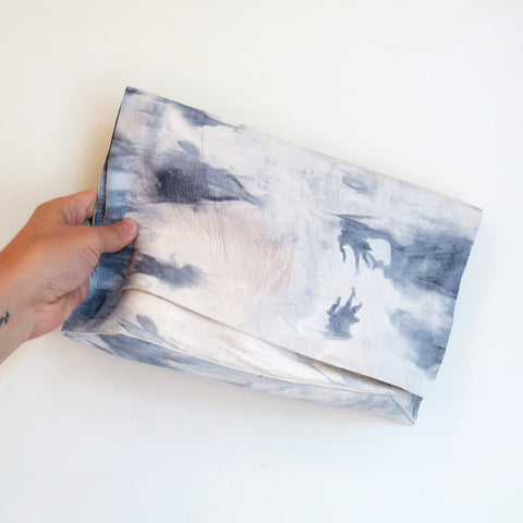 Tracey Tanner Carmen Clutch in Grey Tie Dye
