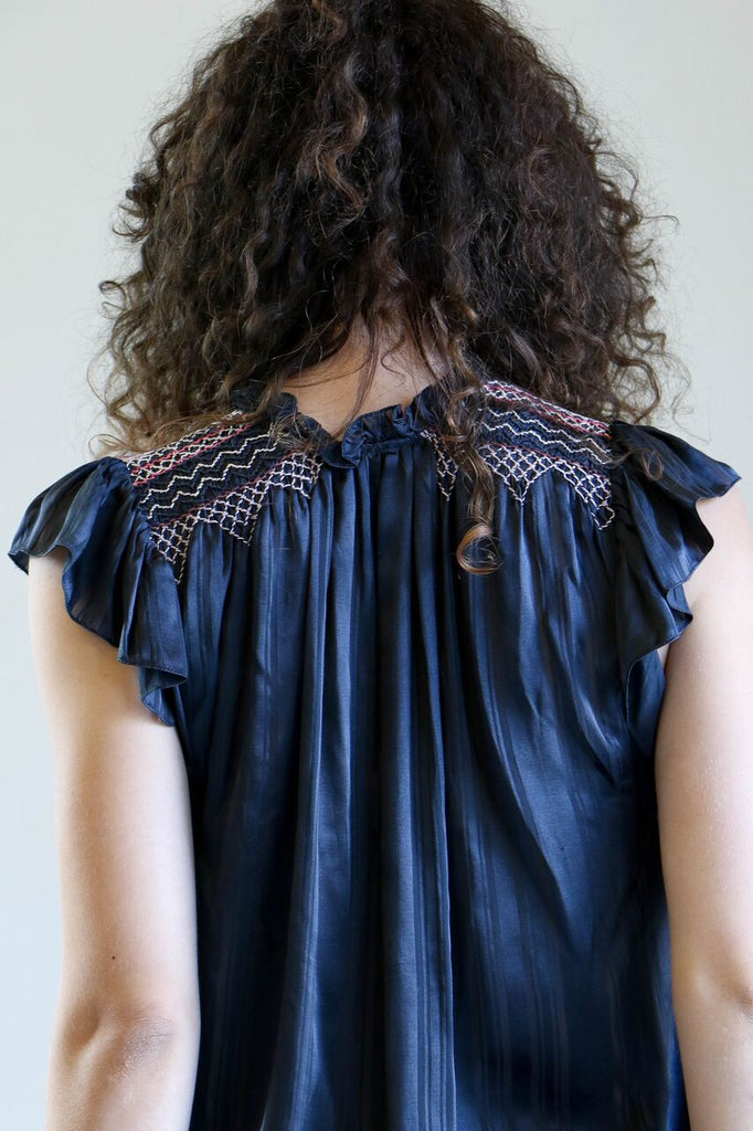 Ulla Johnson Deja Top in Midnight
