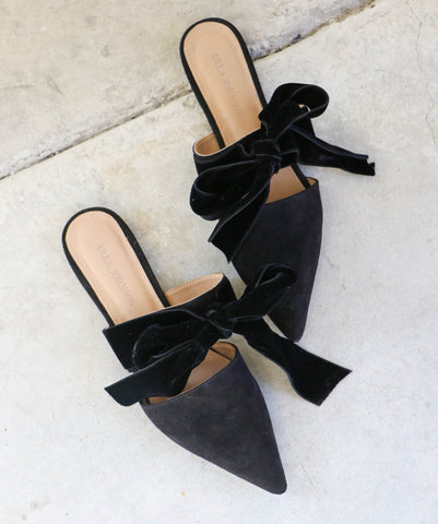 Ulla Johnson Lou Slide in Noir