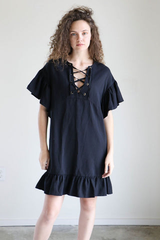 Ulla Johnson Marianne Dress in Noir