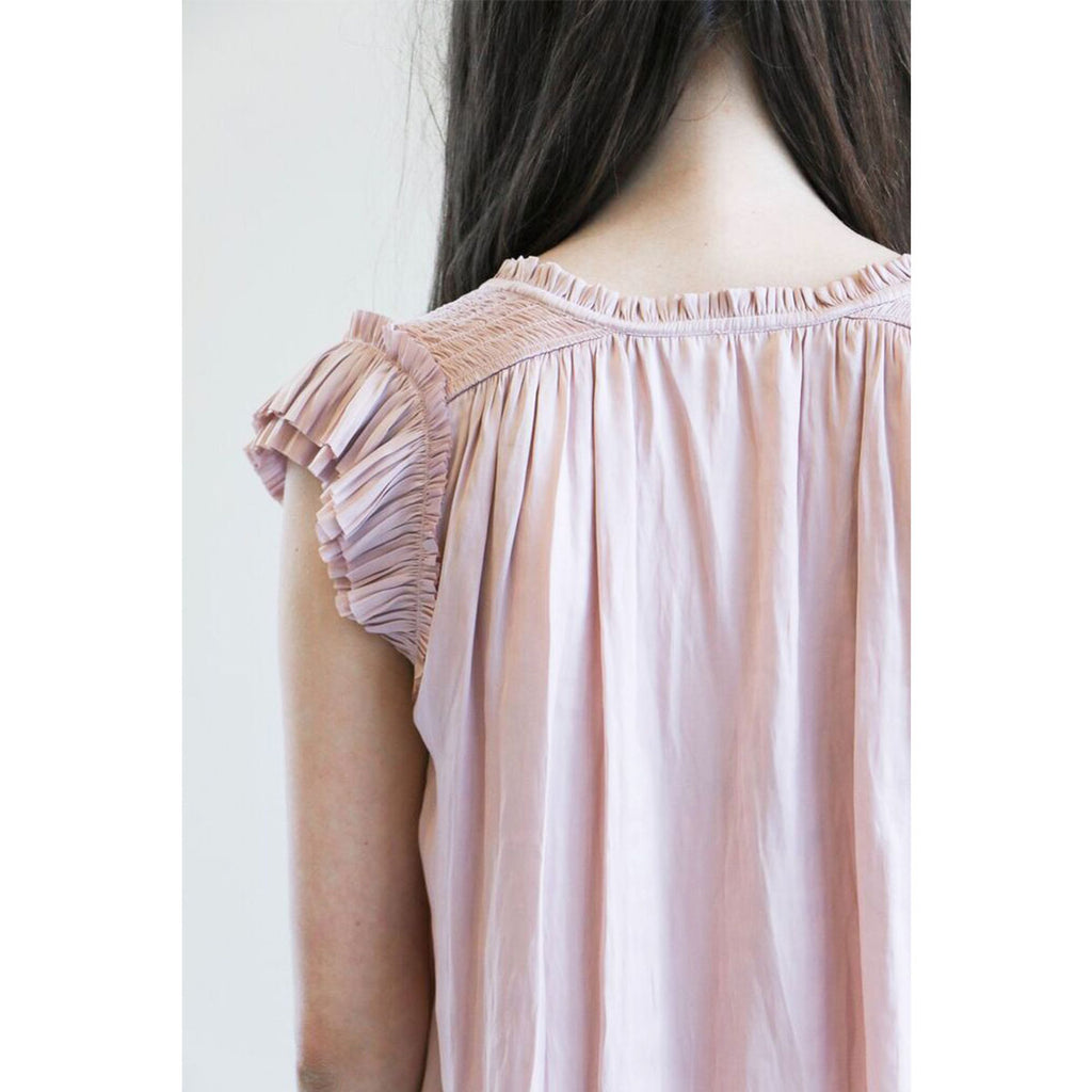 Ulla Johnson Stella Top in Rose