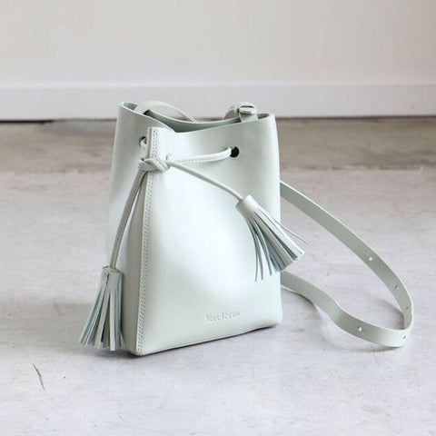 Vere Verto Mini Tris Bucket Bag in Sage