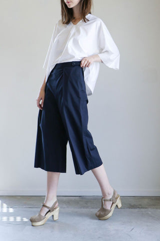 Where Mountains Meet Collette Culotte in Navy
