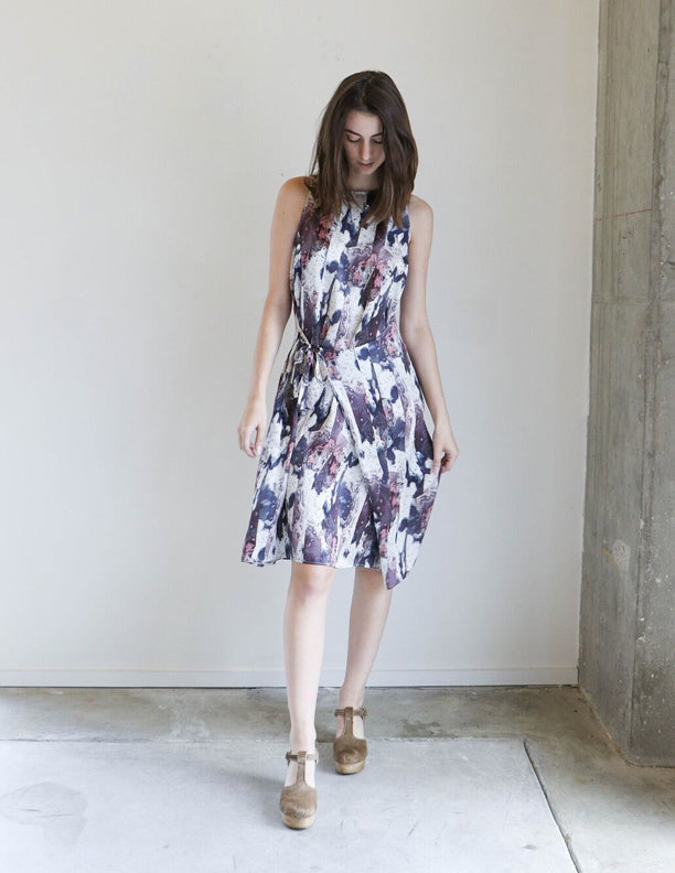 Where Mountains Meet Geo Dress in Marly