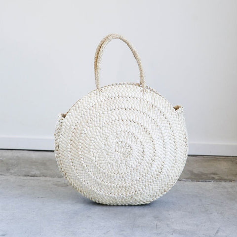 Frame Knot Market Bag in Natural