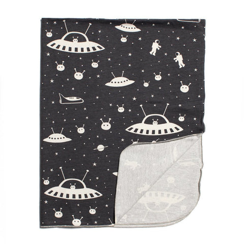 Winter Water Factory Lightweight Blanket in Outer Space
