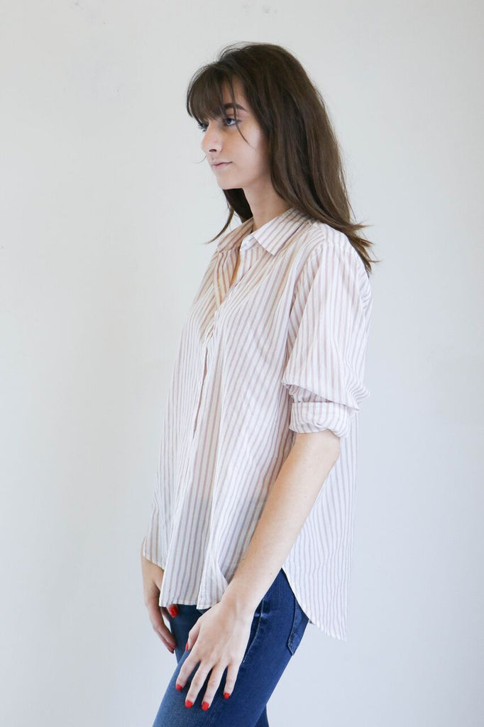 Xirena Beau Shirt in Opal Stripe