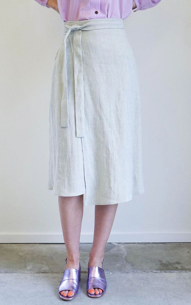 Creatures of Comfort Camilla Skirt in Wheat