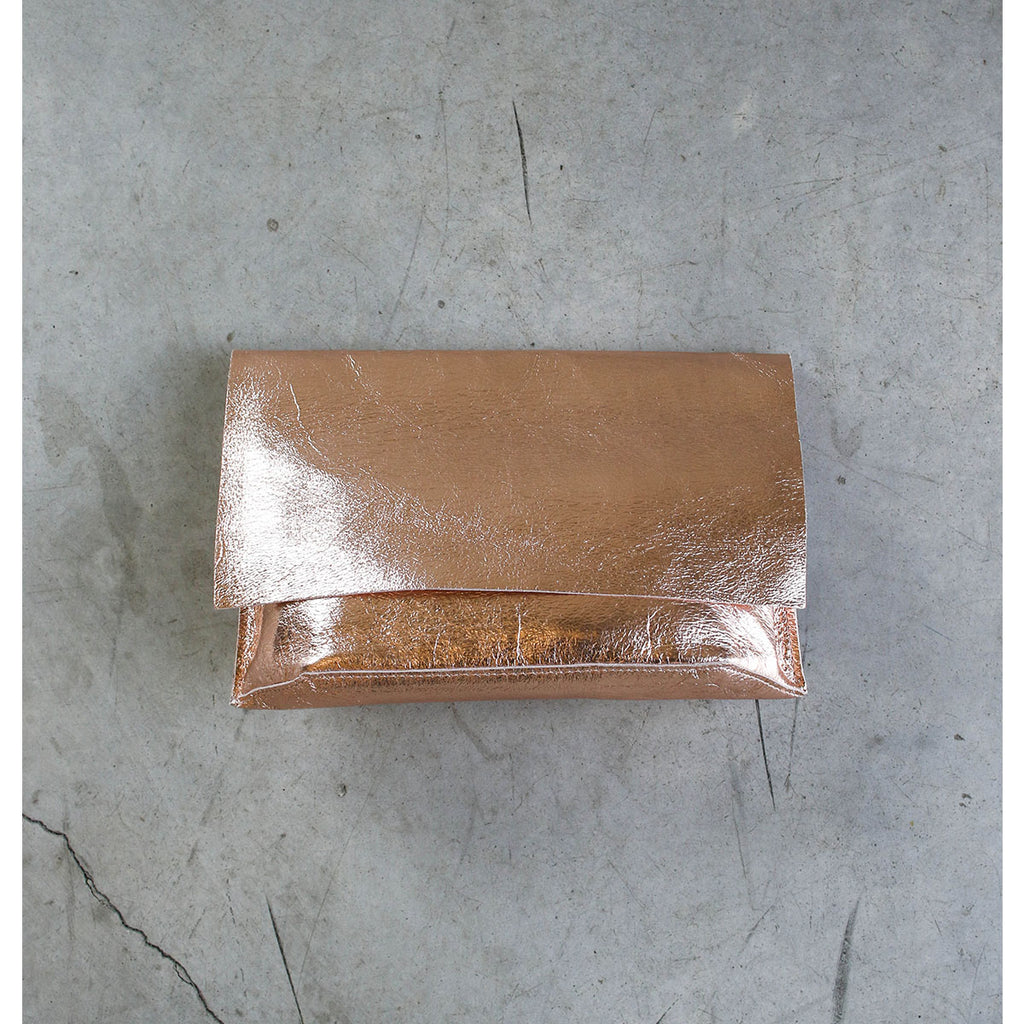 Tracey Tanner Carmen Clutch in Rose Gold Blush