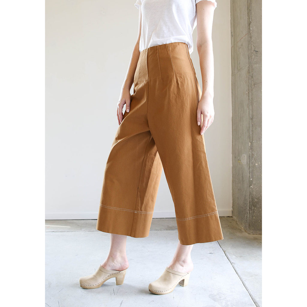 Caron Callahan Ellis Pants Caramel Canvas