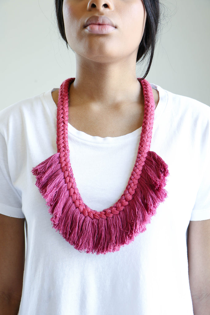 Erin Considine Augustin Necklace in Cochinilla