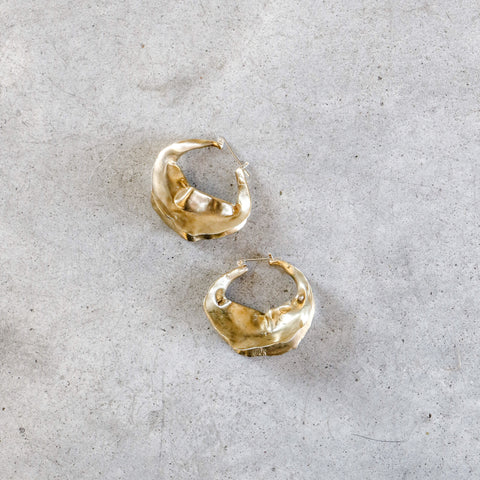 Ariana Boussard-Reifel Georgia Earrings in Brass