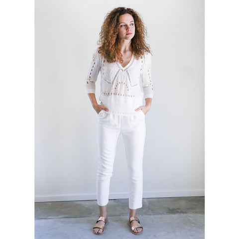 IRO Finovi Pant in Near White