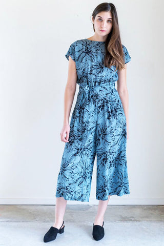 No. 6 Winona Jumpsuit in Sky Island Floral