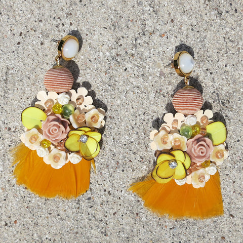 Lizzie Fortunato French Marigold Earrings