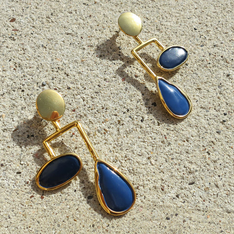Lizzie Fortunato Drop Mobile Earrings