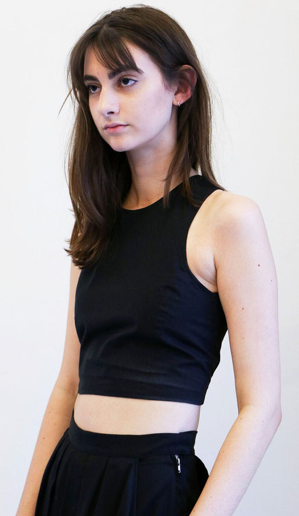 Shaina Mote Nin Top in Black