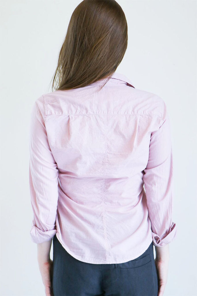 Frank & Eileen Barry Shirt in Dirty Pink