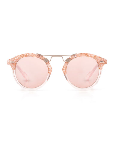 Krewe du Optic St. Louis II Sunglasses in Camellia to Blush