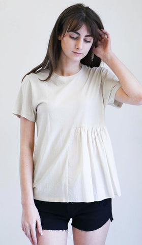Correll Correll Rusch Tee in Natural