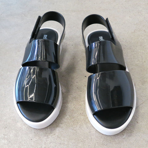 Melissa Soho Sandal in Black and White