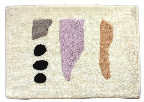 Cold Picnic Talking Rocks Bathmat