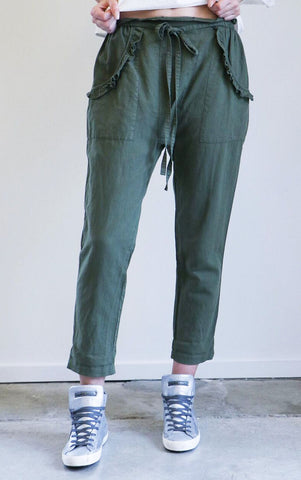 The Great Tulip Pant in Army Green