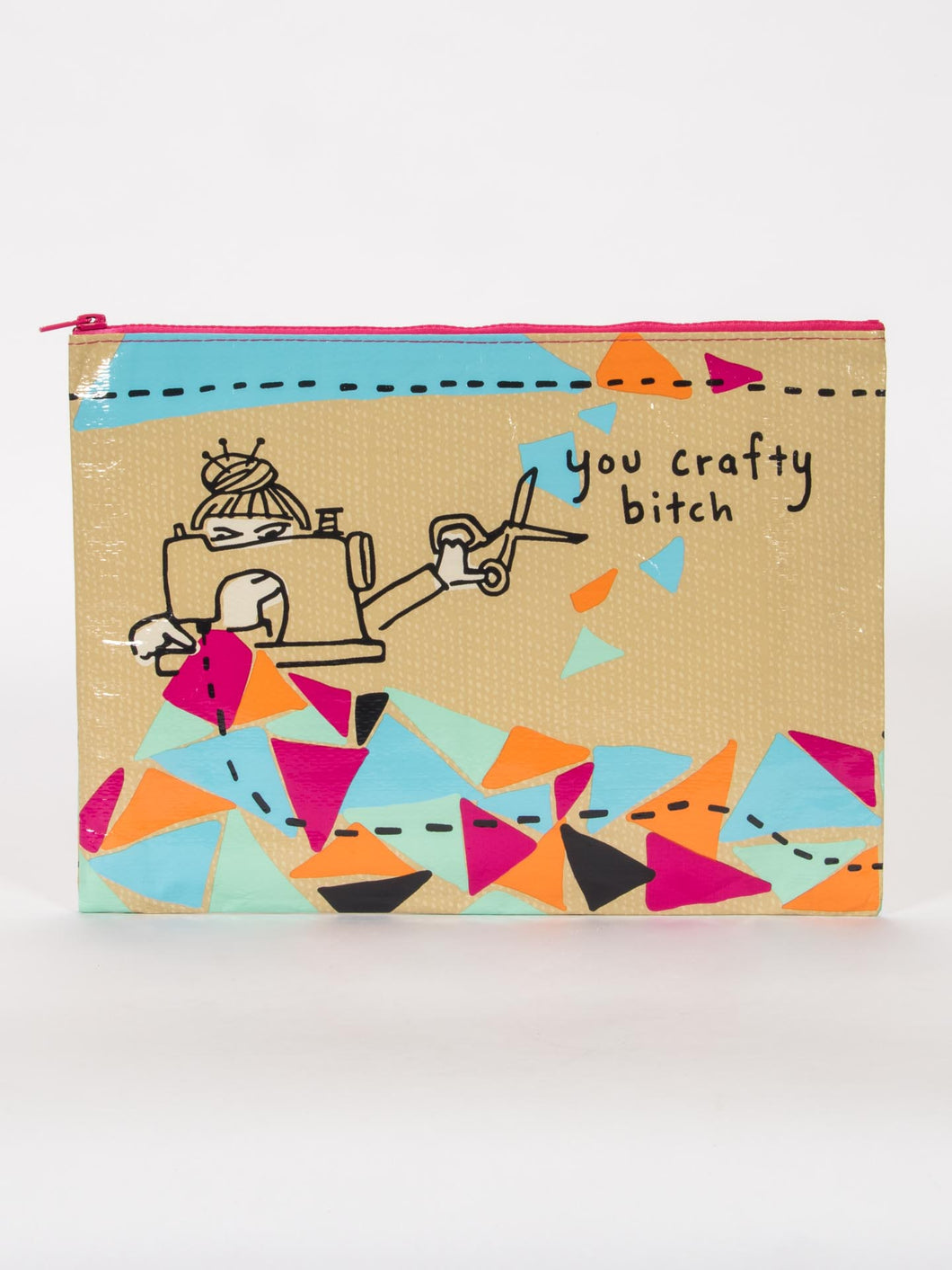 You Crafty B*tch Jumbo Pouch