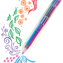 Load image into Gallery viewer, Six Click Colored Gel Pen
