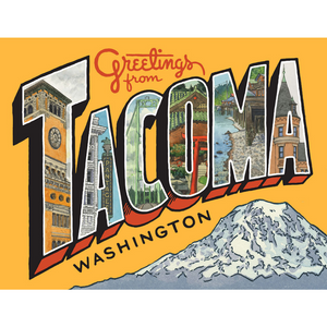 Greetings From Tacoma Card