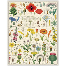 Load image into Gallery viewer, Cavallini & Co Wildflowers 1000 Piece Puzzle