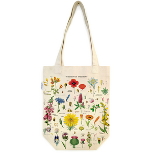 Cavallini & Co. Wildflowers Tote Bag