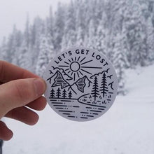 Load image into Gallery viewer, Lets Get Lost- Digital Sticker
