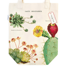 Load image into Gallery viewer, Cavallini & Co. Cacti & Succulents Tote Bag