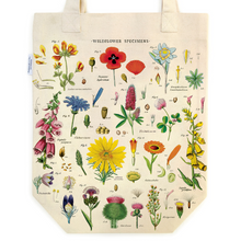 Load image into Gallery viewer, Cavallini & Co. Wildflowers Tote Bag