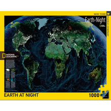 Load image into Gallery viewer, Earth At Night Puzzle