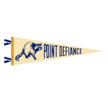 Load image into Gallery viewer, Our Friends Over at Point Defiance Pennant