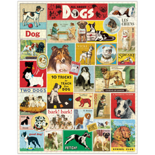 Load image into Gallery viewer, Cavallini & Co Dogs 1000 Piece Puzzle