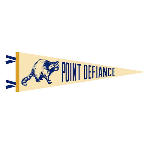 Our Friends Over at Point Defiance Pennant