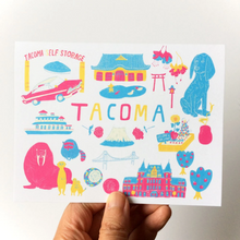Load image into Gallery viewer, Tacoma Art Notecard