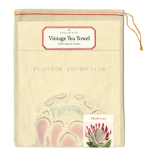 Load image into Gallery viewer, Cavallini & Co. Tropical Plants Tea Towel