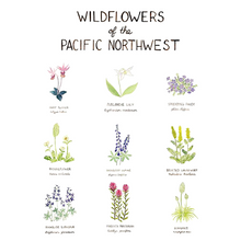 Load image into Gallery viewer, Print- Wildflowers of The Pacific Northwest