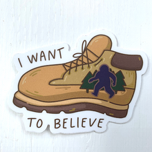Load image into Gallery viewer, I Want to Believe Sticker