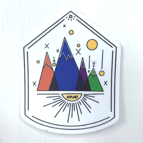 Day Explore Sticker
