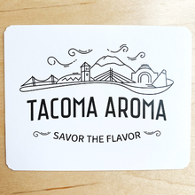 Load image into Gallery viewer, Tacoma Aroma Postcard