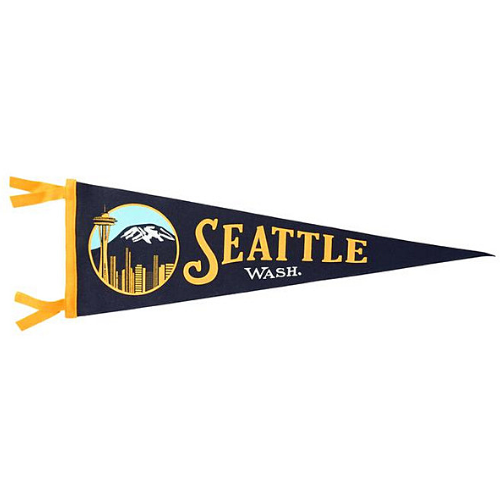 Seattle Pennant