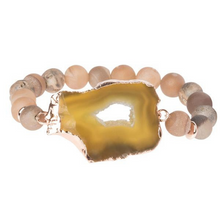 Load image into Gallery viewer, Geode Stack Bracelet