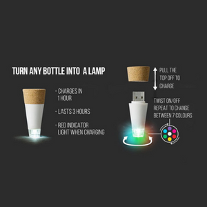 Multicolor Bottle Light