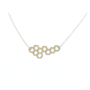 Medium Honeycomb Necklace
